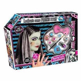 Set De Maquillaje Y Peluca Frankie Stein Monster High!!