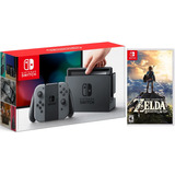 Nintendo Switch Con Juego Zelda Breath Of The Wild Estuche