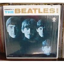 The Beatles Lp Conozca A... Sello Crema Translucido