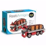 Rasti Amigo 5 Con 91 Piezas Camion De Carga Original