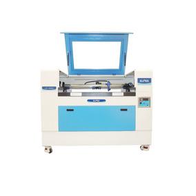 Máquina De Corte E Gravação A Laser 900x600mm 80w Para Mdf