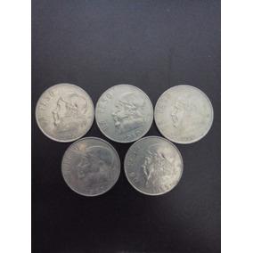 Colección De Monedas De Un Peso Morelos De 1979 A 1983