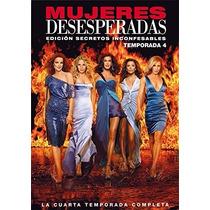 Esposas Desesperadas Cuarta Temporada 4 Cuatro Serie Dvd