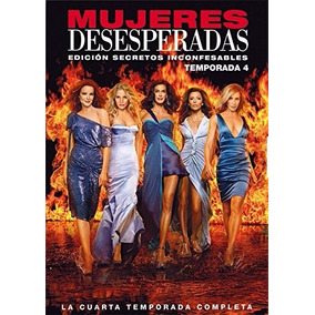 Esposas Desesperadas Temporada 4 Cuatro Serie De Tv En Dvd