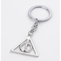 Llavero Reliquia De La Muerte Mágica Giratiempo Harry Potter