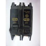 Breaker Thqc 2x15a / 220v General Electric Original
