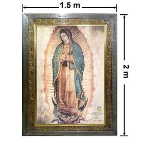 Cuadro Virgen De Guadalupe En Lienzo, Tamaño Basílica. 2 M