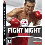 Fight Night Round 3 Ps3 - Fisico - Nuevo