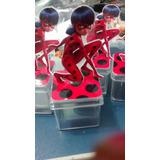 Caixinha Acrilico 3d Ladybug E Cat Noir