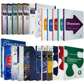 Coleção De Livros Administração Acadêmica Chiavenato
