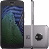 Celular Moto G5 Plus Android 7.0 32gb Platinum + Chip Tim