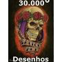 Desenhos Para Tatuagem - 30.000 Desenhos - Entrega Via Email