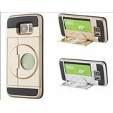 Case Samsung S7 / S7 Edge Carcasa + Protector + Soporte