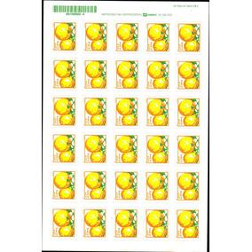 Brasil 1997-1998 Laranja -regular 749 Folha Completa Nova