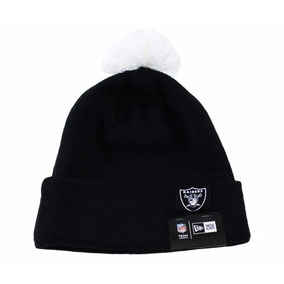 Gorro New Era Raiders Pompom Original Nota Fiscal