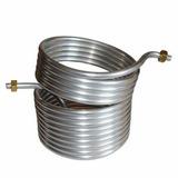 Serpentina Aluminio 9 Metros Chopeira Art Chopp - 2 Garrafas