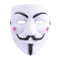 Disfraz De V De Venganza - Máscara Blanca P/ Adultos