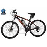 Bicicleta Eléctrica En Aluminio Bateria En Litio Gw Wolf