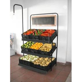 Exhibidor Frutas Y Verduras / Porta Bascula Y Preciador