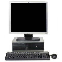 Hp Core 2 Duo,2 Gb Ram,lcd 19 Widescreen Computadoras Baras