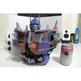 Papercraft Optimus Transformers Animales
