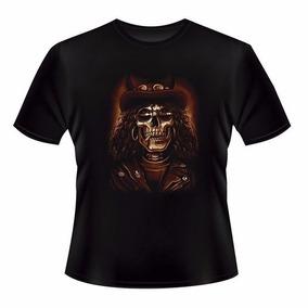 Camiseta Slash Caveira Guitarrista Guns N