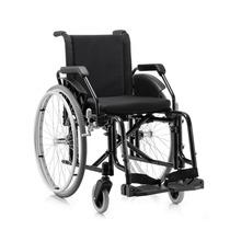 Cadeira De Rodas Fit Jaguaribe Dobrável Pneu Anti Furo 100kg