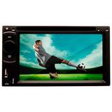 Dvd Carro Automotivo 6.2 Pol Bluetooth Tv Entrada Rca Usb