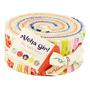 Kit Tecidos Pré-cortados Faixas Jelly Roll Havai [va11664]