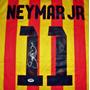 Jersey Autografiado Neymar Jr. Barcelona 2013-14 Nike Brasil