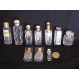 Lote De 10 Frascos Miniatura De Distintos Perfumes Franceses