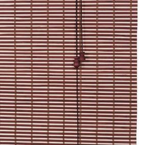 Persiana Rolo De Bambu 0,80l X 1,60a