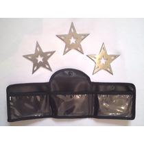 Kit De 3 Estrellas Ninja De 10cm., Shuriken