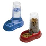 Dispenser De Agua Y/o Comida 600 Ml Perros Y Gatos Italiano