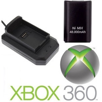 01 Carregador + 01 Bateria Xbox 360 Slim 48000mah