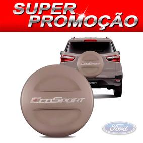 Capa De Estepe Ford Ecosport Todas Prata Riviera S-juros