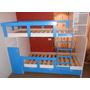 Camarote Con Closet Y Repisas De Colores