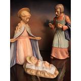 Nacimiento Hummel S/josé,maría,niño Fina Porcelana Navidad