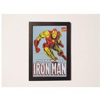 Poster Com Moldura -iron Man Homem De Ferro