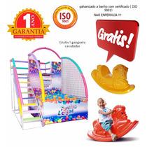 Tombo Legal Escada Lateral 1000 Bolas +gangorra+frete Grátis