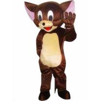 Botarga Disfraz Jerry Raton Adulto Caricatura Tom Y Jerry