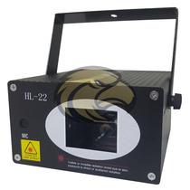 Laser Show Holografico Hl22 250mw Vermelho Verde Sensor Som
