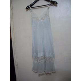 Antigua Enagua/vestido Buen Estado Década 40/50 T 44/46