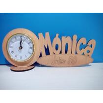 70 Souvenirs Reloj Con Nombre Pers 15 Años Aniversarios