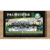 Poster Palmeiras Campeão Brasileiro 2016 Grande 50x70 Cm
