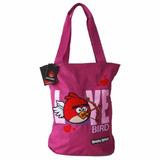 Bolsa Feminina De Ombro Sacola Tote Angry Birds Abb13006