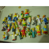 Simpsons Lote De 23 Muñequitos Jack Bart Homero Daly