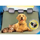 Funda Auto Cubre Tapizado Perro Gato Mascota Impermeable