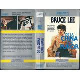 Bruce Lee De La China Con Furor Artes Marciales Retro Vhs
