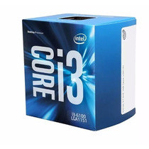 Procesador Intel I3 6100 3.7 Ghz Lga 1151 6ta Tienda Fisica